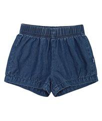 מכנסי גינס קצרים עם גומי