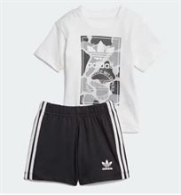 ADIDAS תינוקות// SHORT TEE SET MULTICOLOR