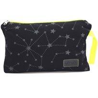 Baby Mitmit נרתיק החתלה שחור צהוב- Galaxy Collection