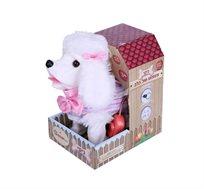 כלב BO ורוד עם חוט Spark toys