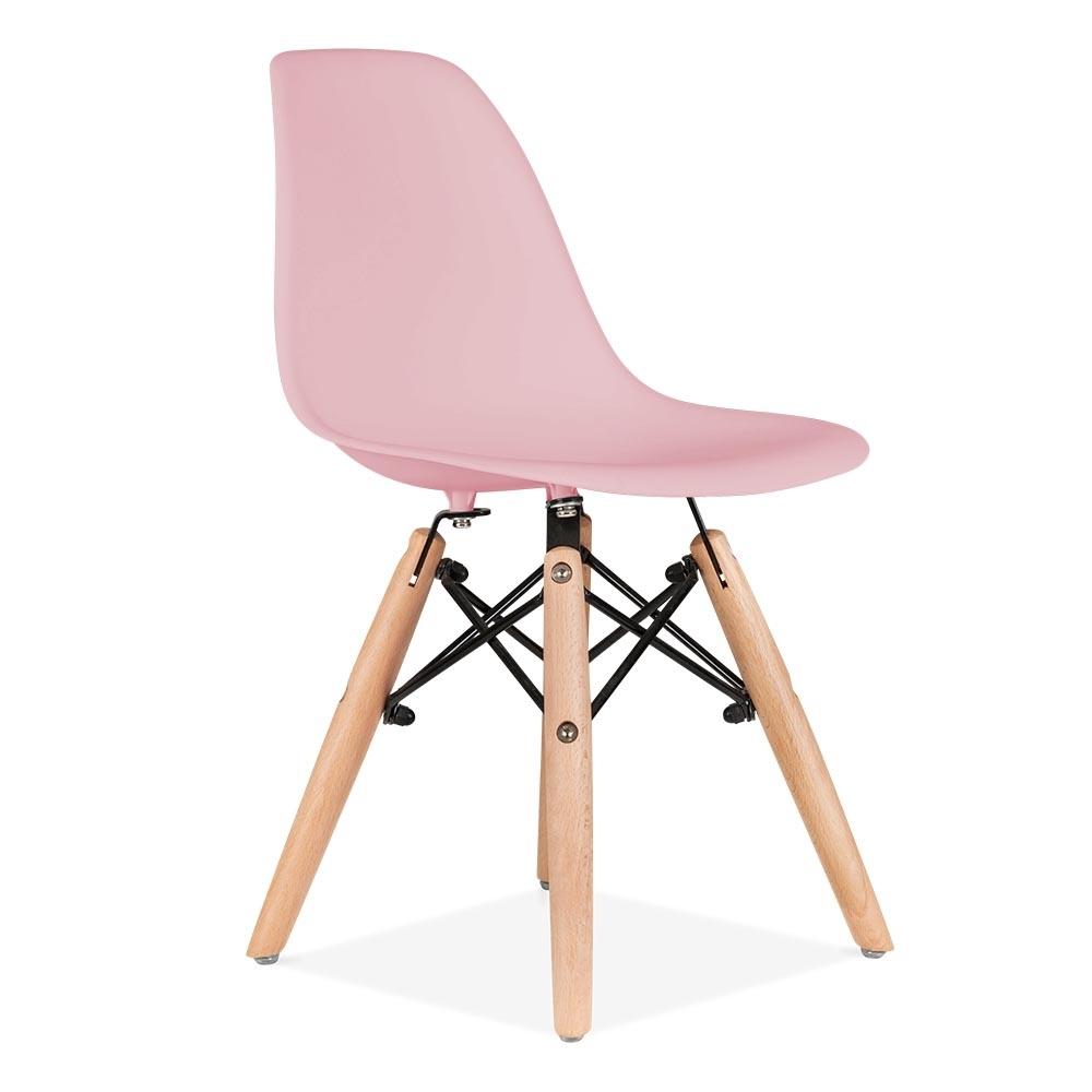 פינת אוכל מודרנית לילדים כוללת שולחן וזוג כסאות במבחר צבעים  - תמונה 6