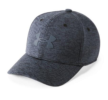 כובע אופנתי לגבר UNDER ARMOUR עם לוגו אמצע 1305460-001 - אפור מלנ'ז