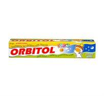 מארז של 10 יחידות משחת שיניים לילדים בטעם מסטיק Orbitol אורביטול 70 גרם