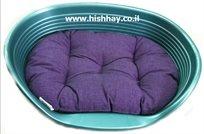 מיטה לכלב פרפלסט 4 פלסטיק+מזרן