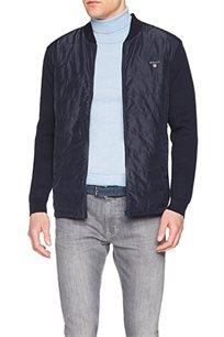 מעיל GANT לגברים עם לוגו 8000033-5 בצבע כחול כהה