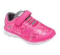 נעלי ספורט לילדים FILA דגם Lipod בצבע נאון פוקסיה