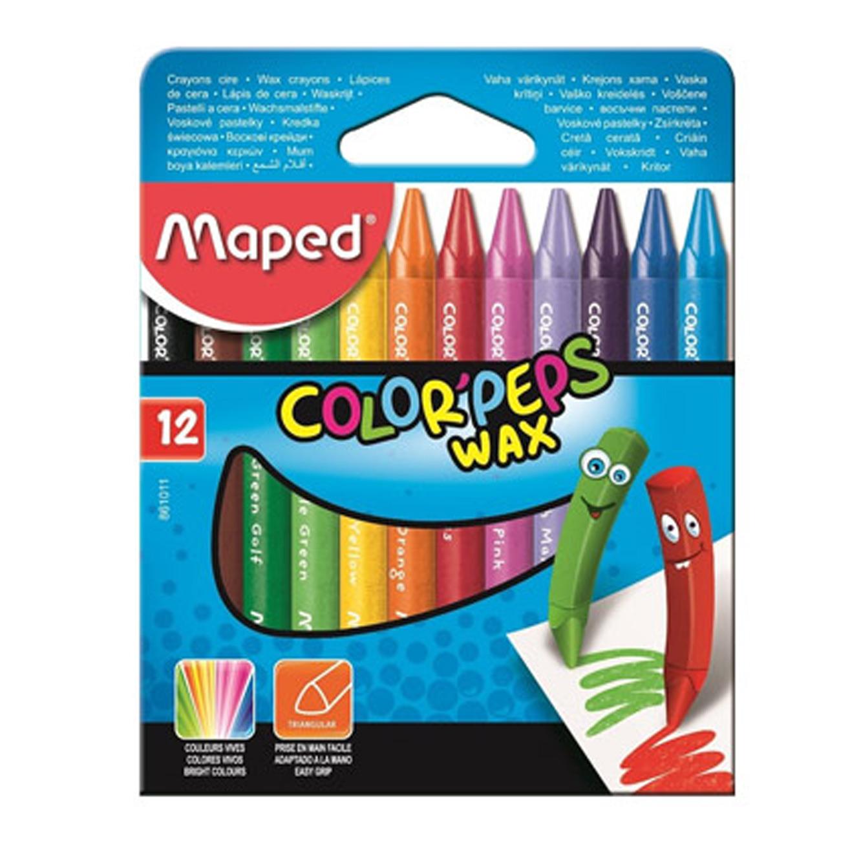 מארז הכולל 12 צבעי פסטל
