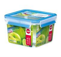 קופסת פלסטיק אטומה 1.75 ליטר מרובעת