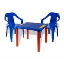 שולחן ו-2 כסאות שירה