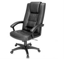 כסא מנהלים גבוה ואיכותי כולל כרית ראש ארגונומית