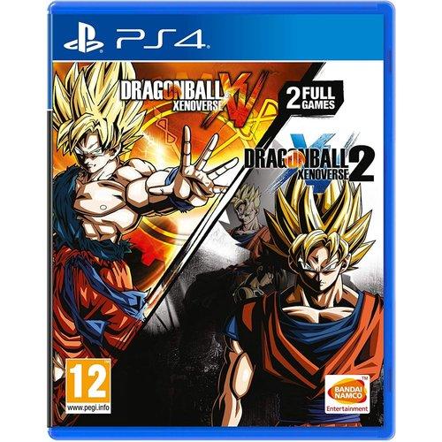 Dragon Ball Xenoverse + Dragon Ball Xenoverse 2 Ps4 אירופאי!
