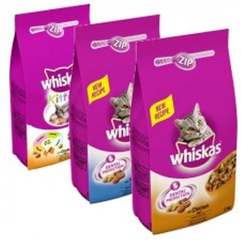 מזון לחתול בוגר ויסקס עוף 7 ק''ג Whiskas