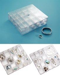קופסת תכשיטים שקופה