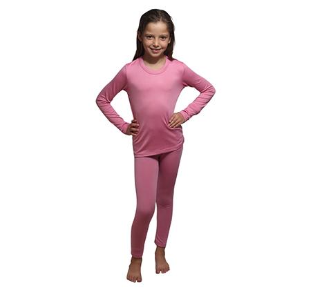 חליפה תרמית לילדים וילדות LEVEL 2 בעלת סיבים ייחודיים לשמירת חום הגוף OUTLAND - משלוח חינם - תמונה 2