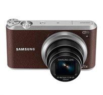 """מצלמה דיגטלית WB350F מבית SAMSUNG בעלת 16.3MPx, זום אופטי 21X ומסך מגע """"3.0 + כרטיס זיכרון 16GB - משלוח חינם!"""