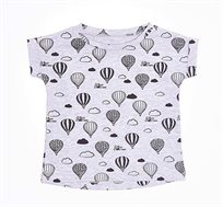 חולצה טי שירט כדור פורח לתינוק - צבע לבחירה