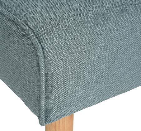 כורסה מרופדת בבד רך ונעים עם רגלים מעץ טבעי לכל חדרי הבית דגם כריסטינה Homax - תמונה 8