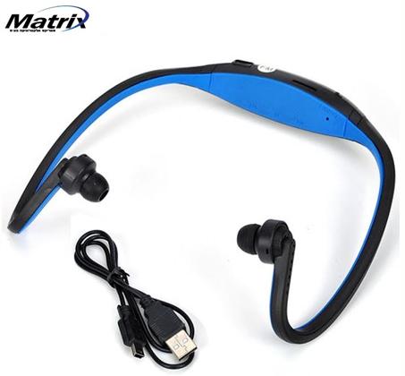 אוזניות ספורט עם נגן MP3 מובנה