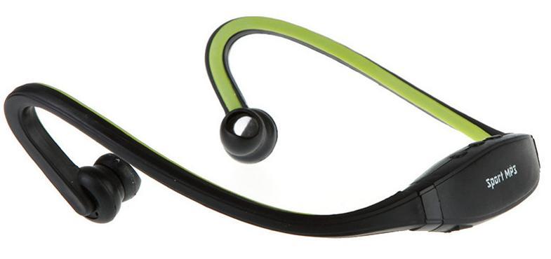 אוזניות ספורט עם נגן MP3 ורדיו FM מובנה ללא חוטים - תמונה 5