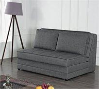 ספה קטנה לאירוח הכוללת כריות נפתחת למיטה זוגית מרופדת בבד קל לניקוי BRADEX