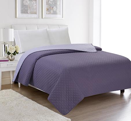 שמיכה קיצית דו צדדית בשלל צבעים 100% סאטן אל קמט בגודל יחיד או זוגי לבחירה - תמונה 3