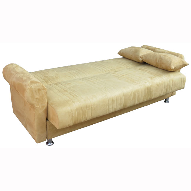 ספה תלת מושבית נפתחת למיטה גדולה כוללת ארגז מצעים דגם סידני OR design - תמונה 2
