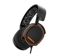 אוזניות גיימינג איכותיות Surround 7.1  עם תאורת Arctis 5 RGB