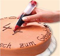 עט סיליקון גמיש לקישוט עוגות ומאפים, משדרג כל עוגה, מאפה ועוגות ילדים