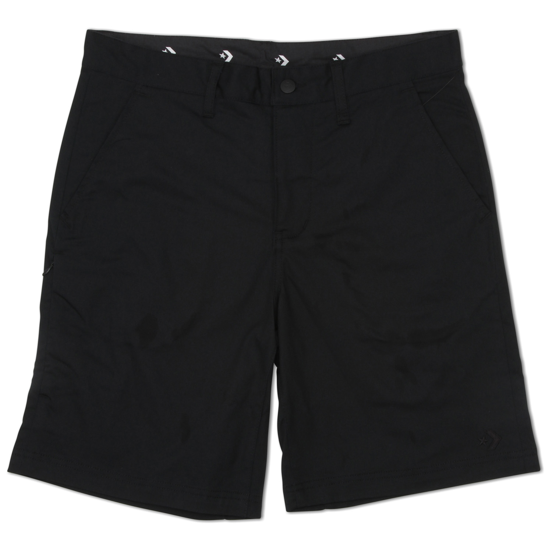 Converse גברים// Men's Woven Shorts Black