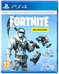 Fortnite: Deep Freeze Bundle Ps4 פורטנייט