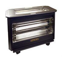 תנור אינפרא 4 גופים HOME TECH שחור הספק HT-2001 2300W