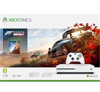 קונסולה  Microsoft Xbox One S נפח 1TB+משחק Forza Horizon 4  וחבילת מייסדים Apex Legends יבואן רשמי
