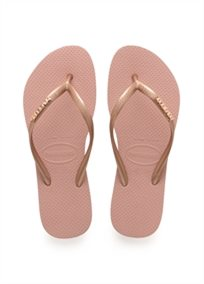 Havaianas נשים // Slim Logo Metallic Rose