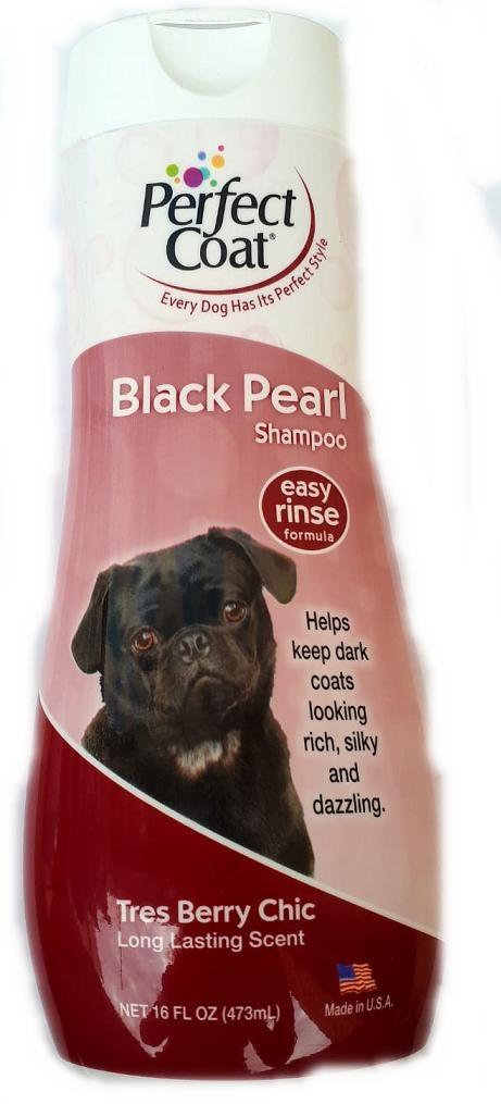 שמפו לכלב Perfect Coat לפרווה שחורה 473 מ''ל