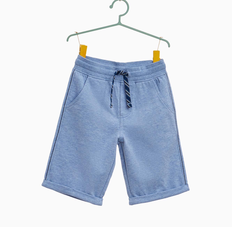 מכנסי ברמודה OVS עם שרוך לילדים - כחול