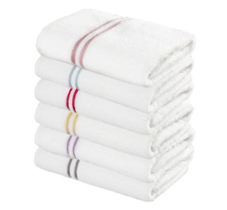 סט הכולל 3 מגבות אמבט רכות ומפנקות בעיטור פסים בצבעים לבחירה מגבות ערד - משלוח חינם - תמונה 2