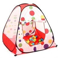 אוהל כדורים מתקפל ומנהרה + 100 כדורים