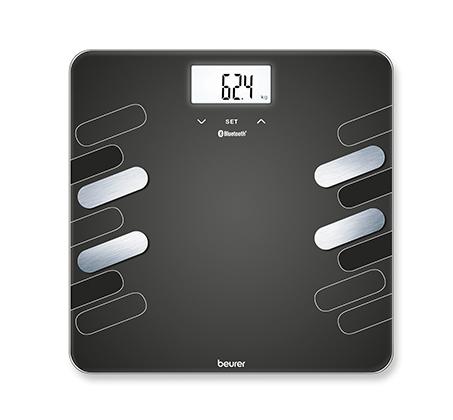 משקל גוף חכם עם תקשורת חדשנית בין הטלפון החכם למשקל דגם BF600