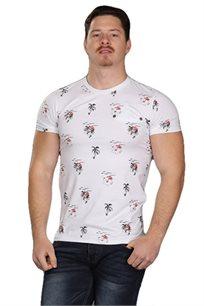 חולצת טישרט לגברים SLIM FIT בשני צבעים לבחירה