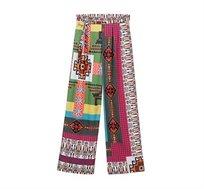 מכנסיים רחבים Desigual לנשים דגם NICOLE בצבע צבעוני