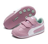 נעלי סניקרס Puma Whirlwind Mesh V Inf לתינוקות - ורוד