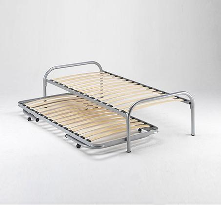 מיטה נפתחת רגלי מתכת ובסיס עץ מלא היירייזר דגם BRADEX Paleta - תמונה 5