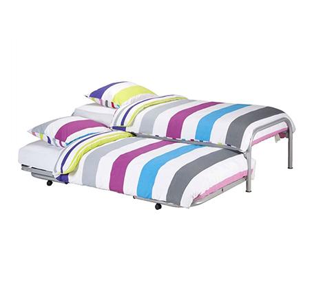 מיטה נפתחת רגלי מתכת ובסיס עץ מלא היירייזר דגם BRADEX Paleta - תמונה 2
