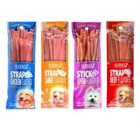 5 חטיפים לכלב Sleeky סליקי במגוון טעמים