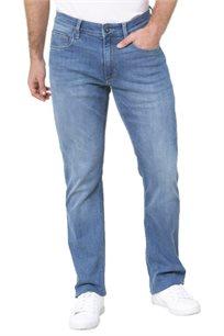 ג'ינס Nautica גזרת slim לגברים בצבע כחול בשטיפה בהירה