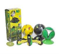 ערכת משודרגת הכוללת נעלי כדורגל + דיסק לימוד תרגילים + 6 כיפות אימון + כדור כדורגל - משלוח חינם