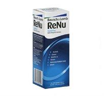 """מארז שלישיית תמיסות RENU כולל 3 מחסניות לעדשות Bausch & Lomb מכיל 360 מ""""ל ביחידה"""