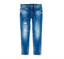 מכנסי ג'ינס SUPERDRY Tyler Slim Jeans לגברים בצבע כחול