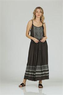 שמלה הדפס שחור - קקאוCUBiCA