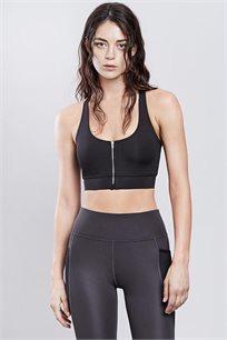 חזיית ספורט Kiara בצבע שחור